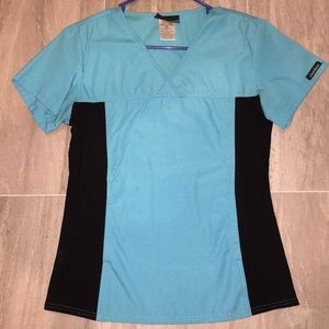 Fitted Scrub Top